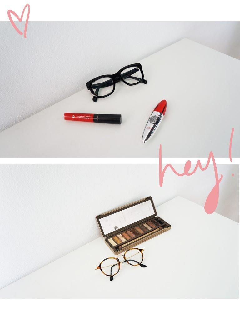 Maquillaje con gafas de ver