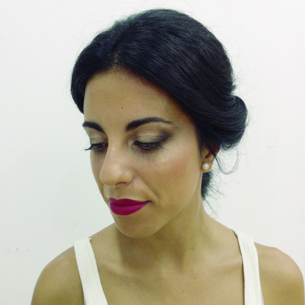 Maquillaje invitada de boda en Málaga