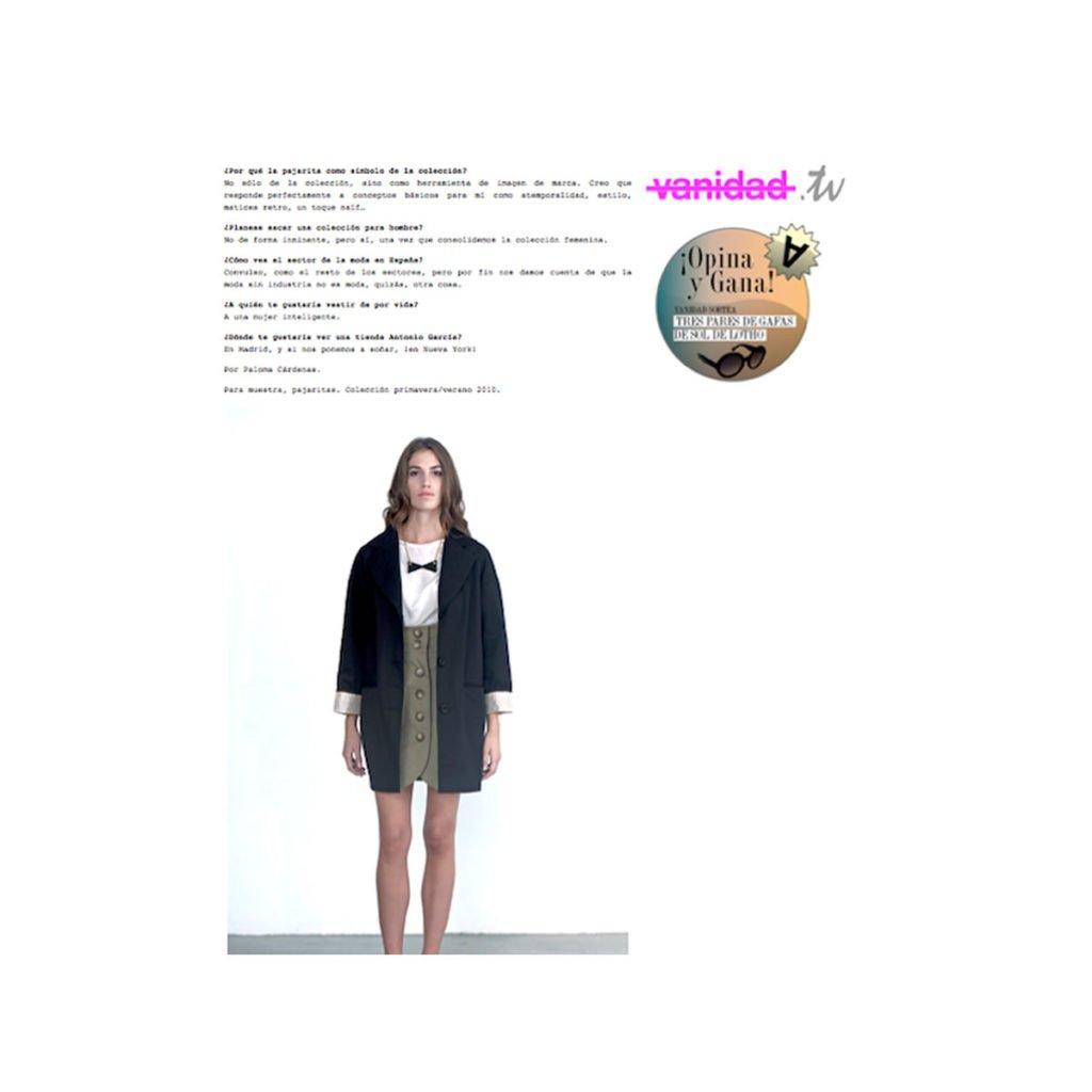 redactora de moda online
